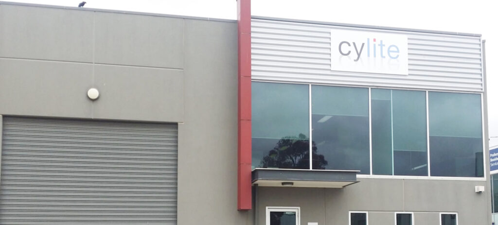 A photo of the building where Cylite office was