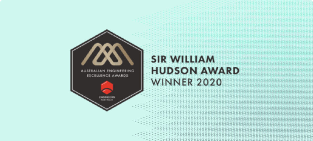 Logo of the Sir William Hudson Award